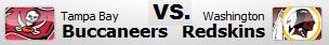 Bucs vs Redskins